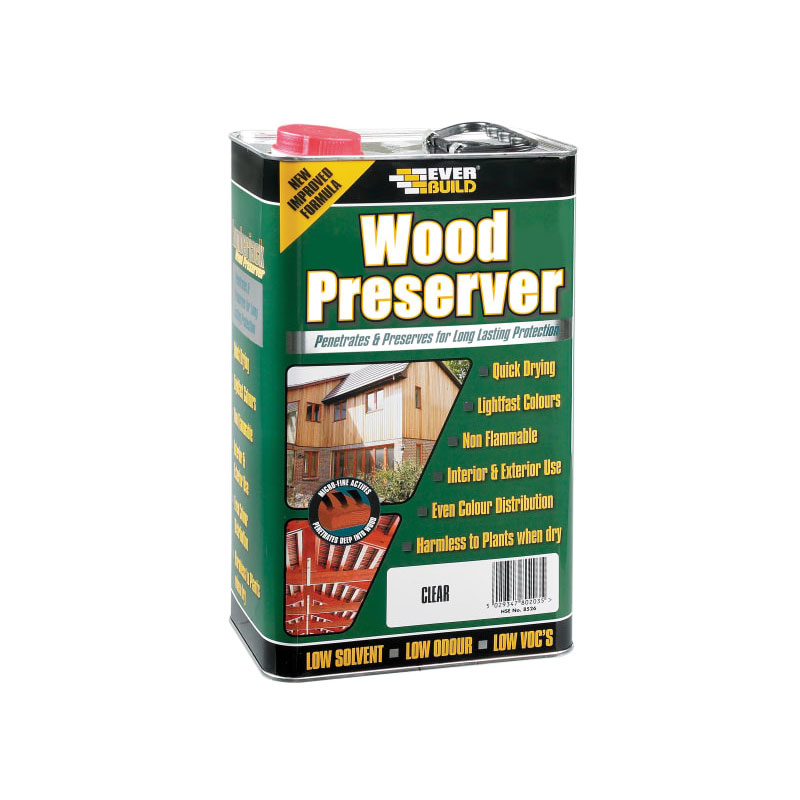 Everbuild Wood Preserver