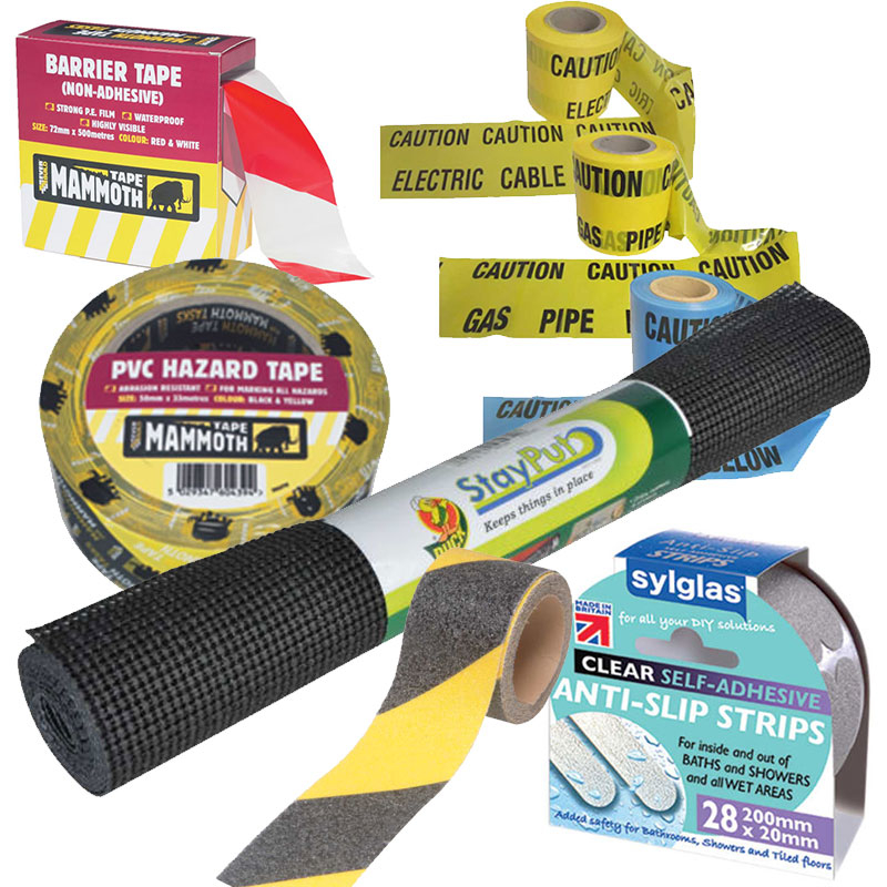 Safety, Warning & Barrier Tape