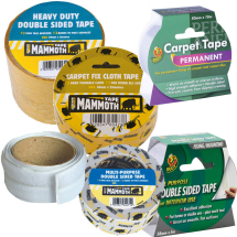 Double Sided & Carpet Tapes