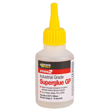 Everbuild Industrial Superglue GP 20 and 50grm