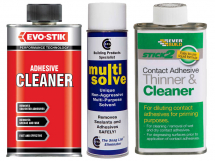 Adhesives - Cleaners