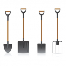 Shovels & Contractor Forks