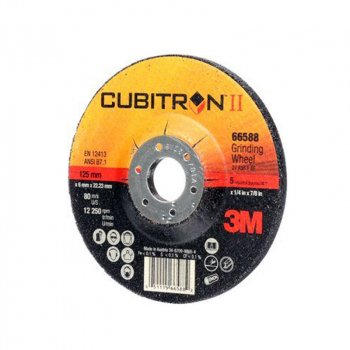 3M<sup>(TM)</sup> Cubitron<sup>(TM)</sup> II Depressed Center Grinding Wheel, T27