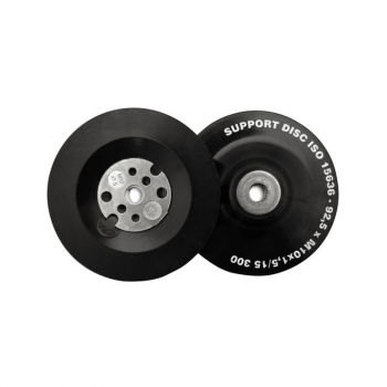 Angle Grinder Pads - Soft Black for Curved Surfaces