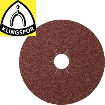 Klingspor CS 561 Fibre Discs for Steel, NF metals and Metals