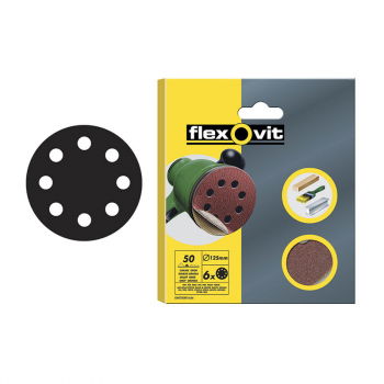 Flexovit Hook & Loop Sanding Discs