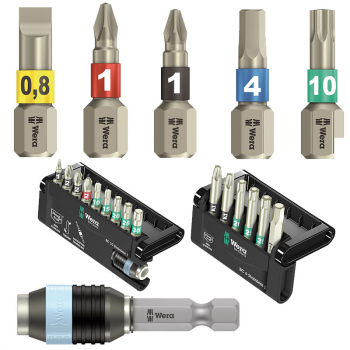 Wera TS Torsion Stainless Steel Bits