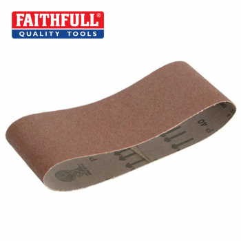 Faithfull Cloth Sanding Belts