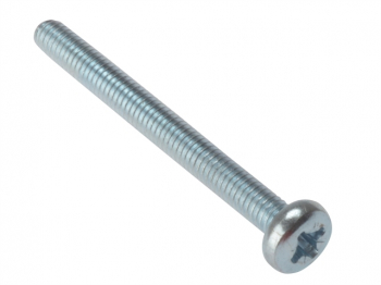 Machine Screw Pan Cross Recessed Steel Zinc Plated