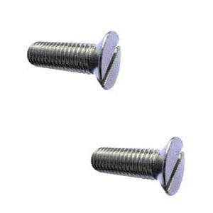 Machine Screw Countersunk Slotted Steel Zinc Plated