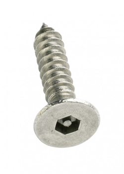 Pin Hex Self Tapper Countersunk A2 Stainless Steel