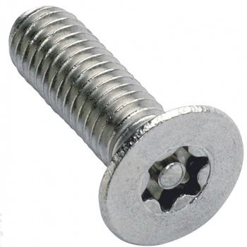 6-Lobe Pin Machine Screw Countersunk A2 Stainless Steel