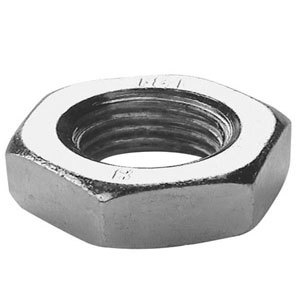 Lock Nut Steel Self Colour Metric
