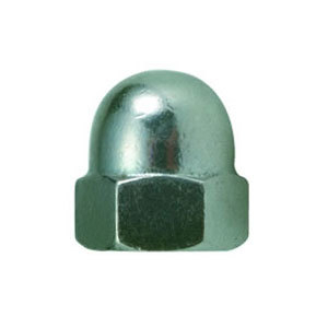 Dome Nut Steel Metric Zinc