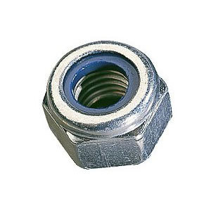 Nyloc Nut 'T' Type Steel Zinc Plated Metric