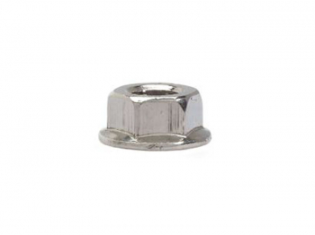 Washer Faced Nut A2 Stainless Steel