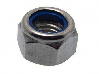 Nyloc Nut Type P A2-304 Stainless Steel DIN 982