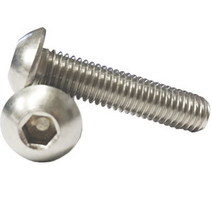 Socket Button Screw A2 - 304 Stainless Steel