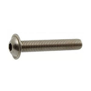 Socket Flange Button A2 - 304 Stainless Steel