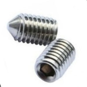 Socket Setscrew Flat & Cone Point A2 - 304 Stainless Steel