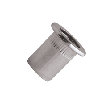 Blind Rivet Nut Stainless Steel A2 - Cylindrical Head (Flange)