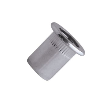 Blind Rivet Nut Aluminium - Cylindrical Head (Flange)