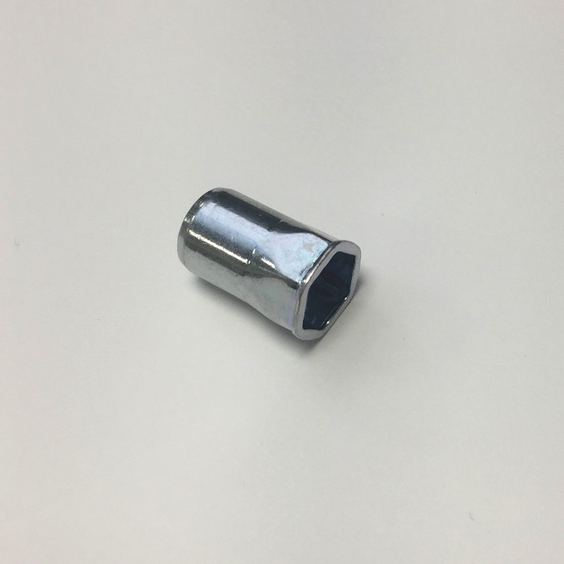 Blind Rivet Nut Steel Zinc - Reduced Head 1/2 Hex (Thinsheet)