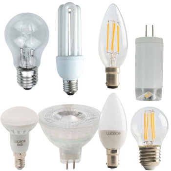 LED GU10 Glass Non-Dimmable Bulb