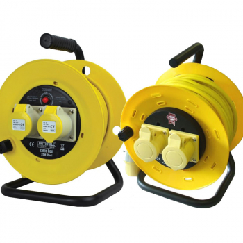 Faithfull Cable Reels, 110 Volt 16 Amp