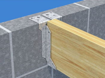 JHM Masonry Hanger for Solid Joists