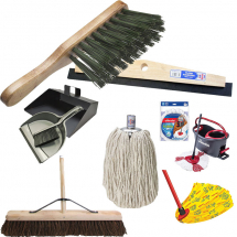 Brushes Brooms & Mops