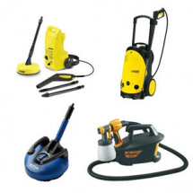 Pressure Washers, Spray Guns & Pumps