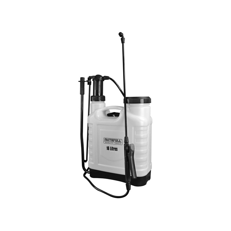 Knapsack Pressure Sprayer 16 Litre + Spare Parts