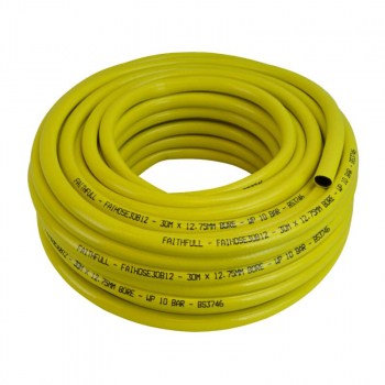 Heavy-Duty Reinforced Builder's Hose