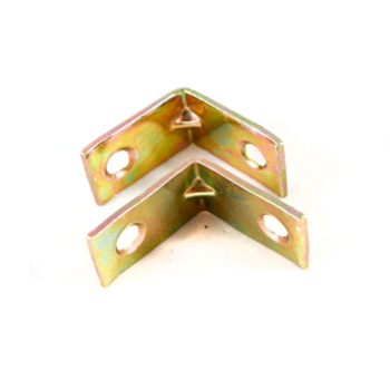 Corner Brace 319 Steel Zinc Yellow