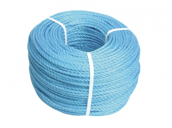 Faithfull Blue Poly Rope Roll