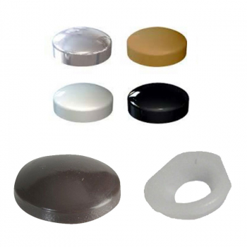 COVER CAP & WASHER BLACK
