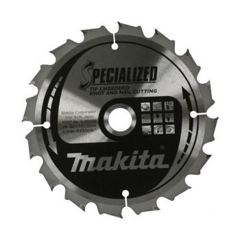 Makita Specialised Tip Embedde d Blade 165 X 20 24T B-09391