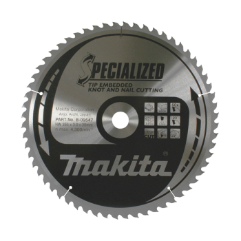 Makita Specialised Tip Embedded Blade 355 X 30 60T B-09457