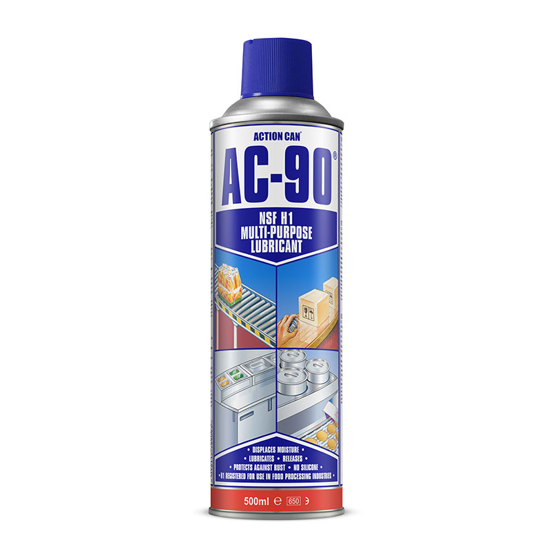 AC-90 425ML H1 FOODGRADE 2007 MAINTENANCE AEROSOL ACTION CAN