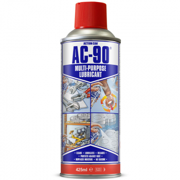 AC-90 Multi-purpose Lubricant 425ml Aerosol LPG - Action Can