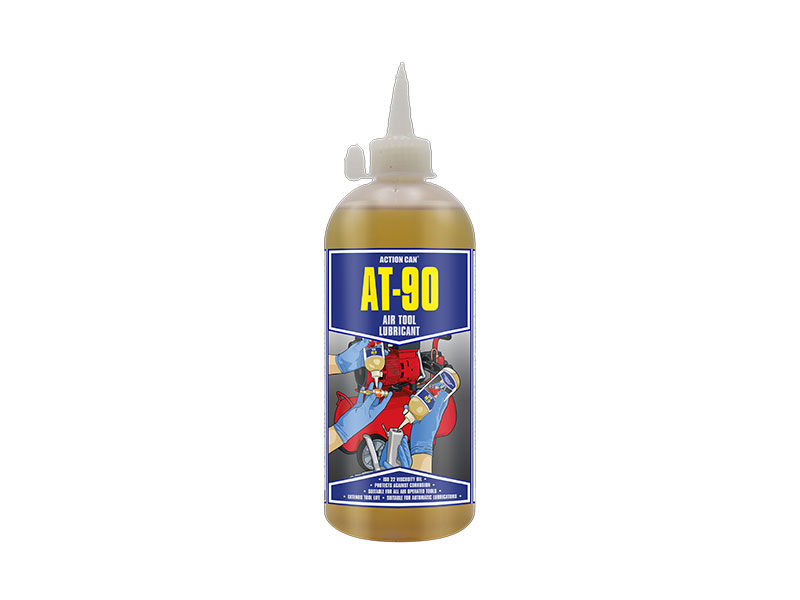 AT-90 AIRTOOL LUBE/OIL 500ML BOTTLE ACTION CAN