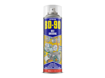 BD-90 BELT DRESSING AEROSOL 500ML ACTION CAN