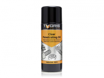 R212 Clear Penetrating Oil 400ml Aerosol TYGRIS
