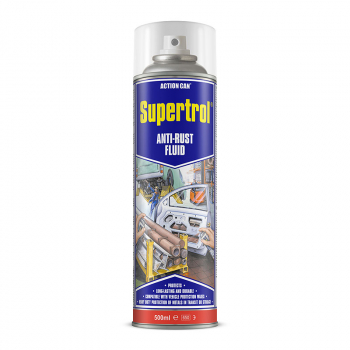 SUPERTROL 001 AEROSOL 500ML ANTI-RUST WAX ACTION CAN
