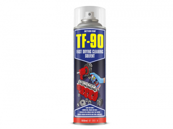 TF-90 Fast Drying Cleaning Solvent & Degreaser 500ml