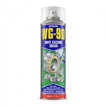 WG-90 WHITE GREASE+TEFLON 500ML AEROSOL ACTION CAN