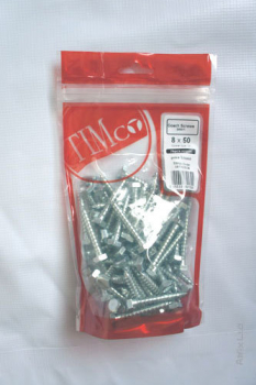 TIMBAG 0860CSCB BAG=65 M8 X 60 COACH SCREWS ZC