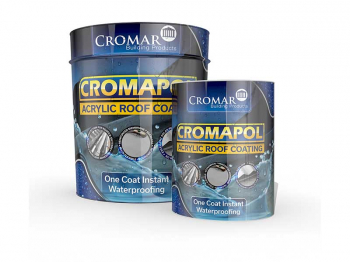 Cromapol Mid Grey 5kg Acrylic Roof Coating