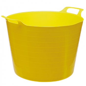 DRAPER 65366 MULTI PURPOSE FLEXIBLE BUCKET YELLOW (40L)